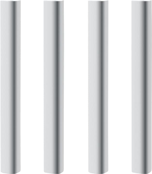 WHITE Montants lit de mi-hauteur Flexa 404964800010 Couleur Blanc Photo no. 1