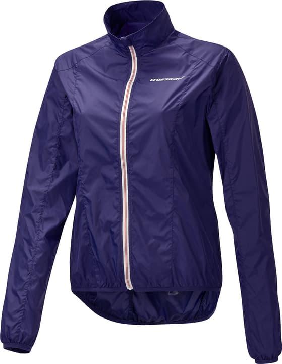 Packaway Damen-Bike-Windjacke Crosswave 461328103649 Farbe dunkelviolett Grösse 36 Bild-Nr. 1