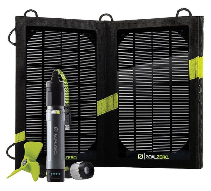 GoalZero Powerbank Switch 10 inkl. Solarpanel und Venti 613210600000 N. figura 1
