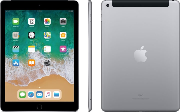 iPad LTE 128GB spacegray Apple 798434600000 Bild Nr. 1