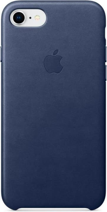 iPhone 8/7 Leather Case Bleu Nuit Coque Apple 785300130141 Photo no. 1
