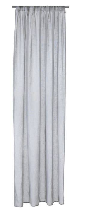 PABLO Rideau prêt à poser jour 430255121781 Couleur Gris clair Dimensions L: 150.0 cm x H: 250.0 cm Photo no. 1
