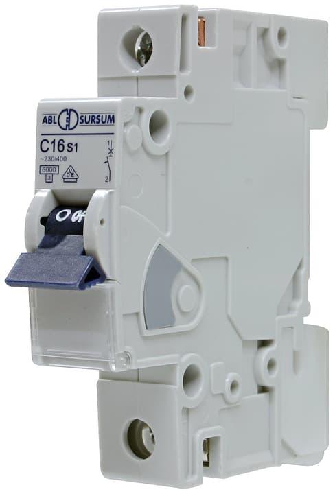 Image of ABL Einbauautomat 'C' 1x 16A 6KA Leitungschutzschalter