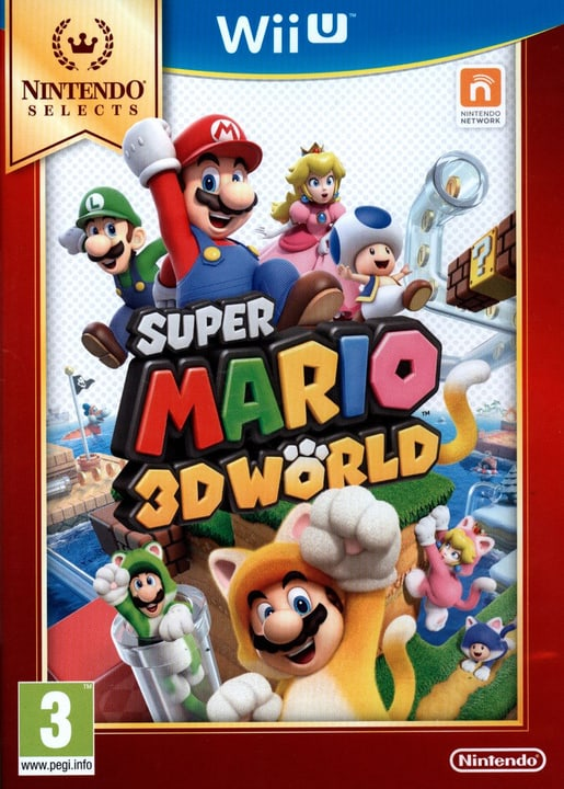 Wii U - Nintendo Selects: Super Mario 3D World Box 785300121749 Photo no. 1