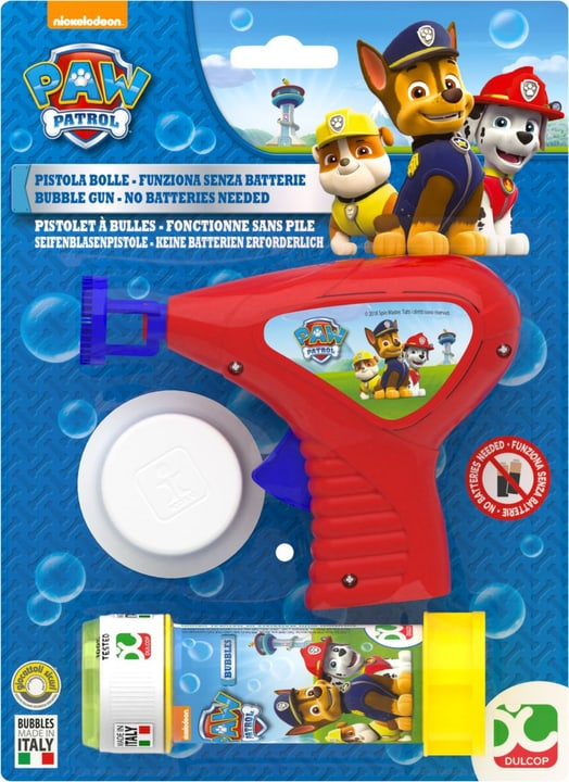 Seifenblasenpistole Paw Patrol 743354400000 Photo no. 1