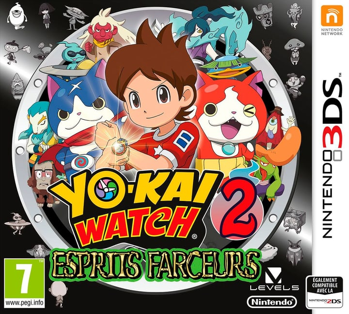 3DS - Yo-Kai Watch 2: Esprits farceurs Box 785300122029 Photo no. 1
