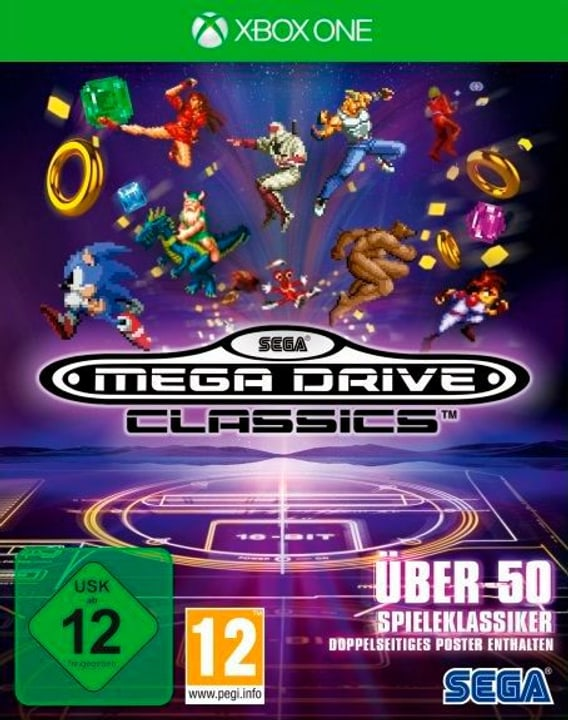 Xbox One - SEGA Mega Drive Classics (D) Physique (Box) 785300134880 Photo no. 1