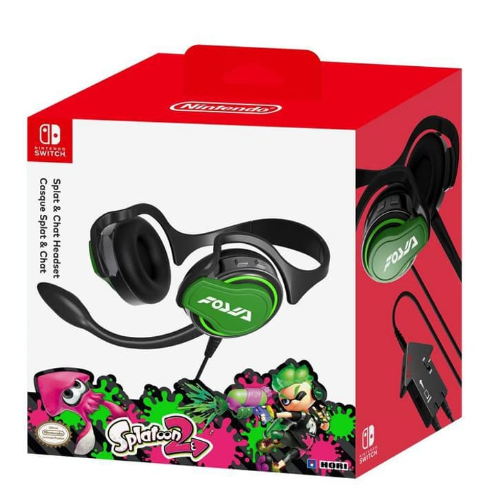 Nintendo Switch Headset Chat Splatoon 2 Casque d'écoute Hori 785300129340 Photo no. 1