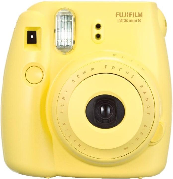 Instax Mini 8 gelb Sofortbildkamera FUJIFILM 793410400000 Bild Nr. 1
