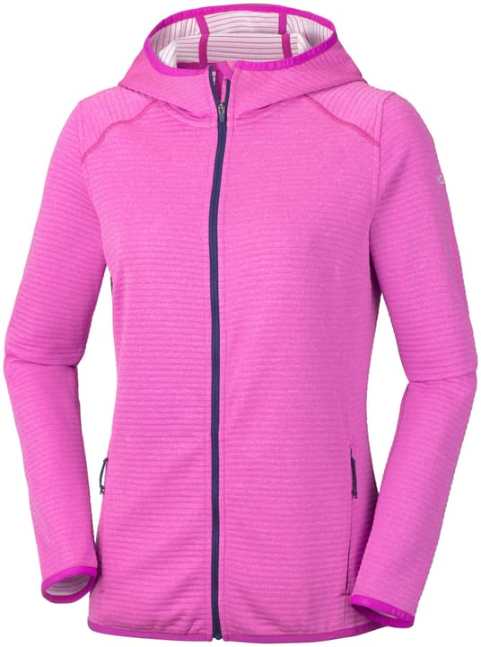 Cabanon Creek Full Zip Veste en polaire pour femme Columbia 462771800329 Couleur magenta Taille S Photo no. 1