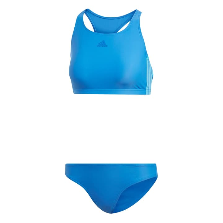 Fit 2PC 3S Maillot de bain pour femme Adidas 463138003640 Couleur bleu Taille 36 Photo no. 1
