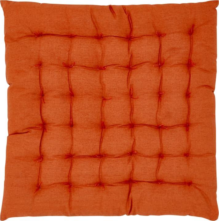 JESSICA Coussin d'assise 753336500034 Taille L: 40.0 cm x P: 40.0 cm Couleur Orange Photo no. 1