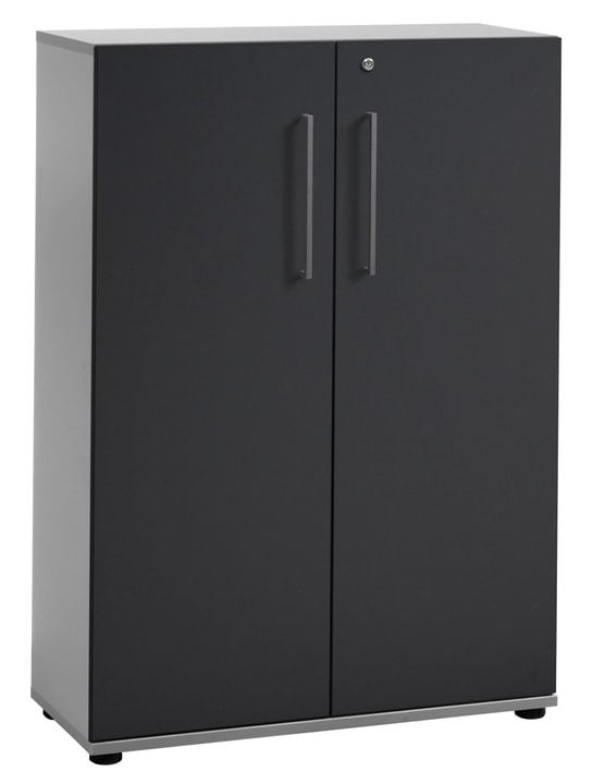CONCEPT X Armoire basse 401830000000 Dimensions L: 82.5 cm x P: 35.0 cm x H: 115.9 cm Couleur Anthracite Photo no. 1