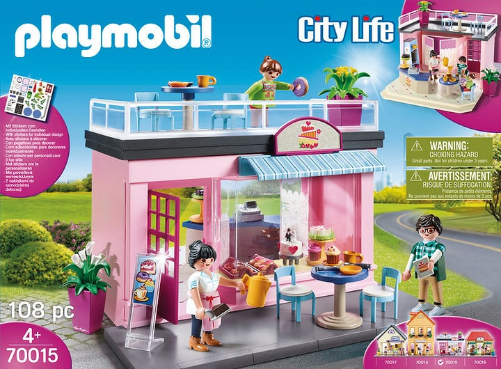 PLAYMOBIL 70015 SALON DE THÉ 748007100000 Photo no. 1