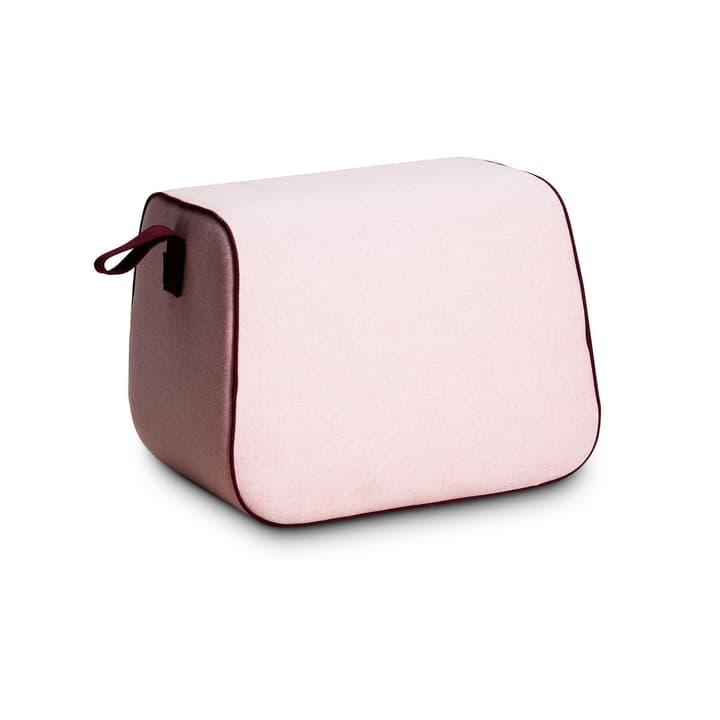 PEPINO pouf 360062504602 Dimensions L: 54.0 cm x P: 40.0 cm x H: 40.0 cm Couleur Rose Photo no. 1