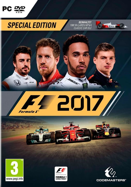 PC - F1 2017 Special Edition Box 785300122633 N. figura 1