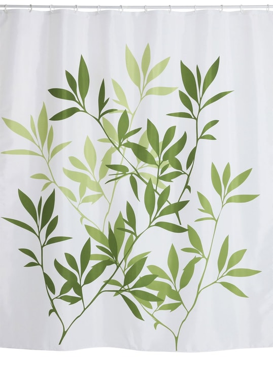 MARIEL Duschvorhang 453151353560 Farbe Grün Grösse B: 180.0 cm x H: 200.0 cm Bild Nr. 1