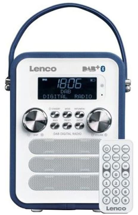 PDR-050 BL Radio DAB+ Lenco 785300148648 Photo no. 1
