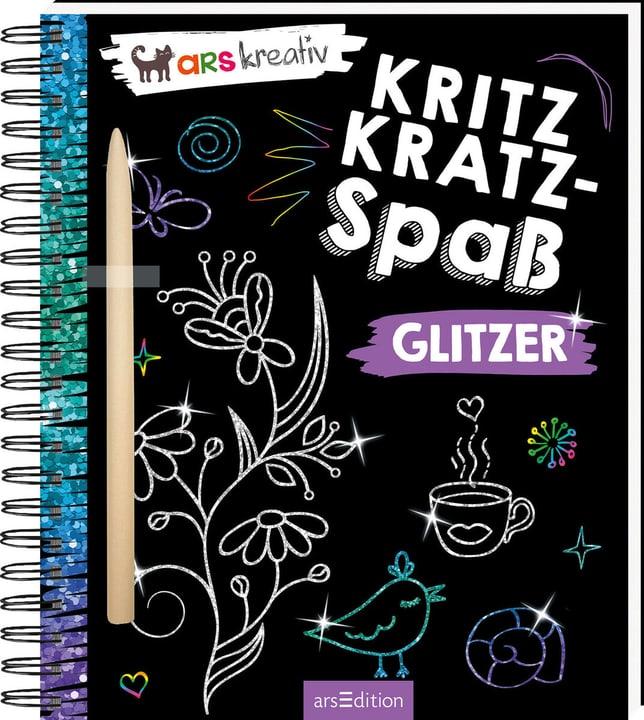 Glitzer Kritzkratz-Spass 782491500000 Bild Nr. 1