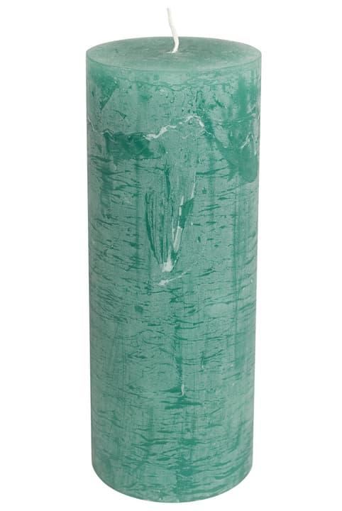 BAL Bougie cylindrique 440582900862 Couleur Vert moyen Dimensions H: 22.0 cm Photo no. 1