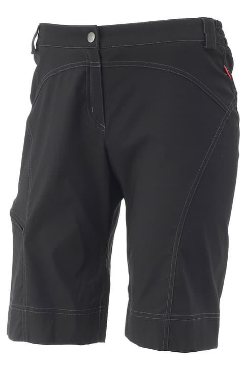 Pantaloncino da ciclismo da donna Löffler 494075803620 Colore nero Taglie 36 N. figura 1