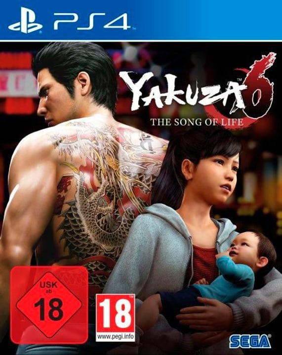 PS4 - Yakuza 6: The Song of Life - Essence of Art Edition (D) Box 785300131994 Photo no. 1