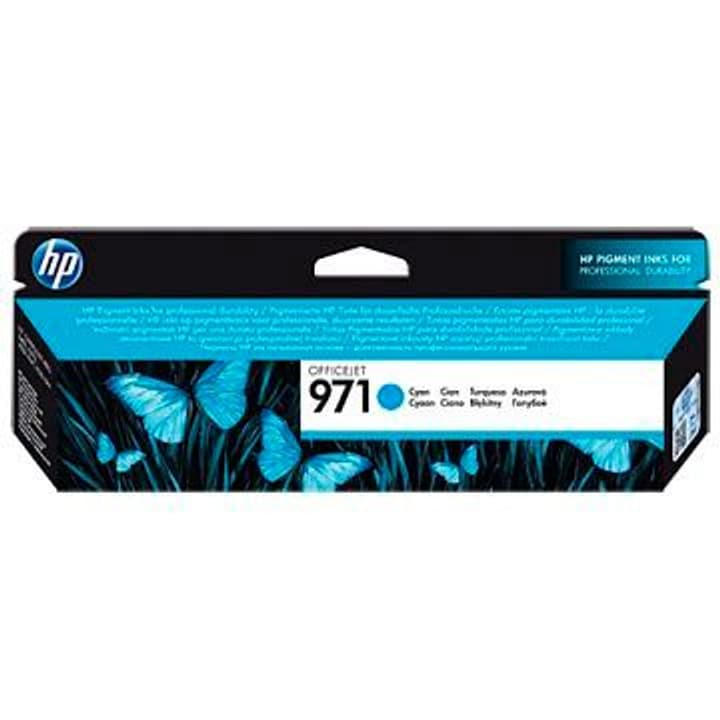 971 Officejet  cyan Cartouche d'encre HP 785300125158 Photo no. 1