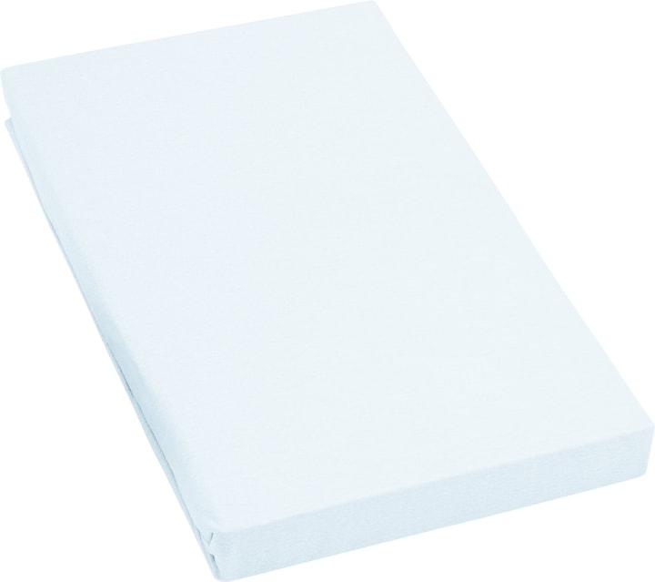 SINA Stretch Jersey-Fixleintuch 451057931666 Farbe Hellblau Grösse B: 180.0 cm x H: 200.0 cm Bild Nr. 1