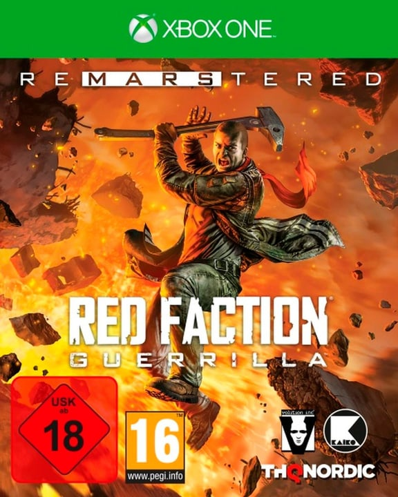 Xbox One - Red Faction Guerrilla Re-Mars-tered (D) Box 785300135448 Photo no. 1