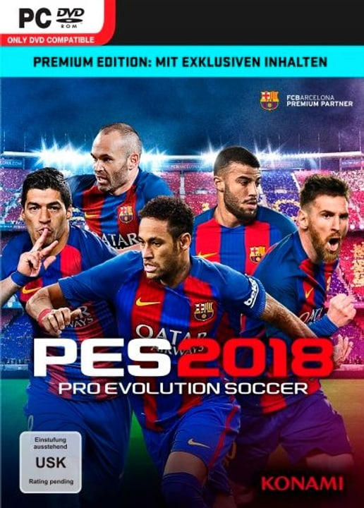 PC - PES 2018 - Pro Evolution Soccer 2018 Premium Ed. Box 785300122644 N. figura 1