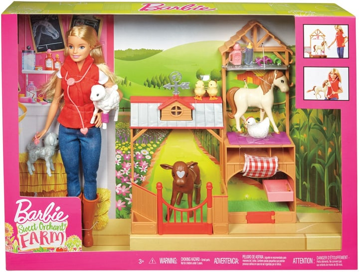 Barbie GCK86 Farm Vet 746569200000 Photo no. 1