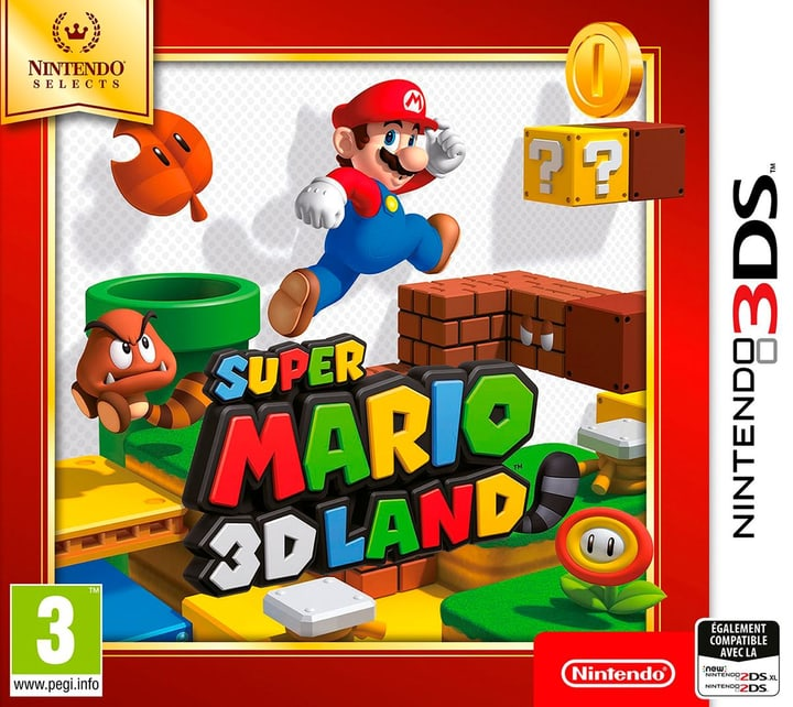 3DS - Nintendo Selects : Super Mario 3D Land Box 785300129654 Photo no. 1