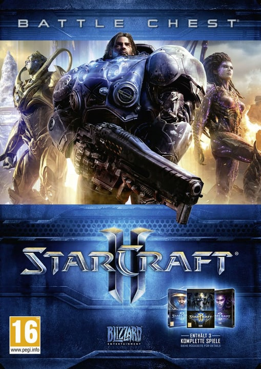 PC - Starcraft II Battlechest 2.0 Physisch (Box) 785300121592 Bild Nr. 1