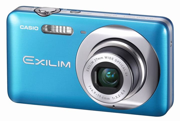 L- Casio EX-Z800 blue Casio 79334800000011 Bild Nr. 1