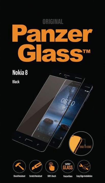 Classic Nokia 8 - schwarz Panzerglass 798098900000 Bild Nr. 1