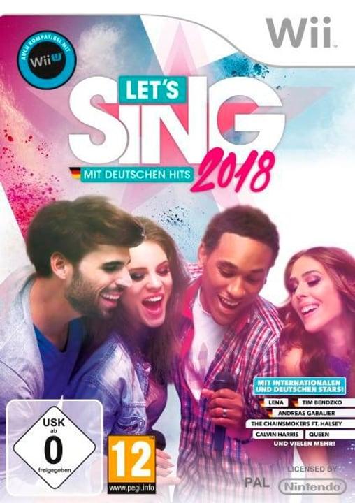 Wii - Let's Sing 2018 mit Deutschen Hits Box 785300129677 Photo no. 1
