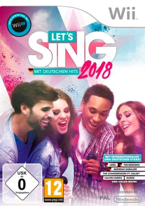Wii - Let's Sing 2018 mit Deutschen Hits Physique (Box) 785300129677 Photo no. 1