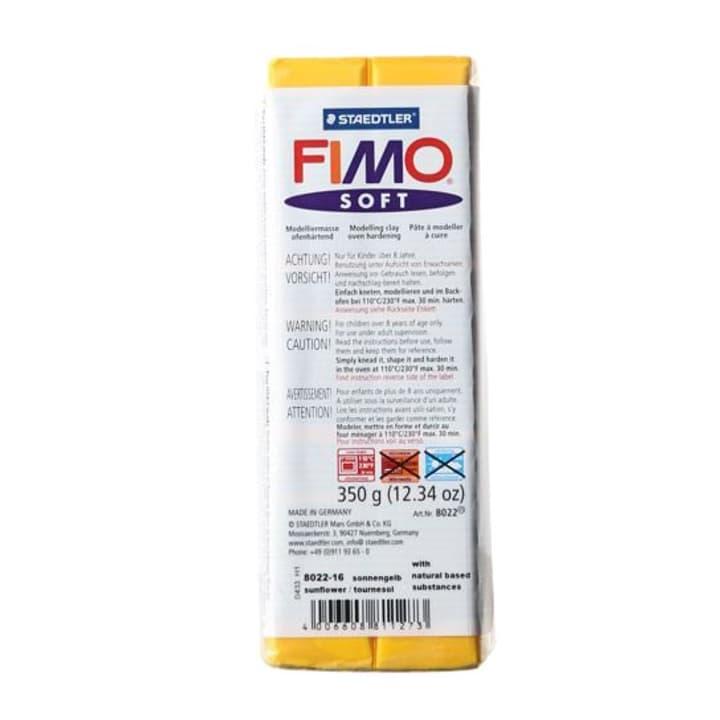 Soft grande giallo s Fimo 665306400000 Colore Giallo Sole N. figura 1