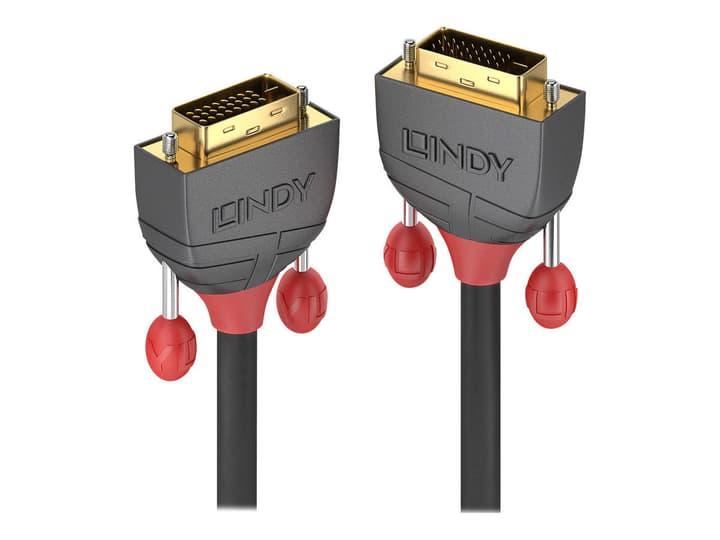 DVI-D Dual Link Kabel, Anthra Line 10m Kabel LINDY 785300141576 Bild Nr. 1