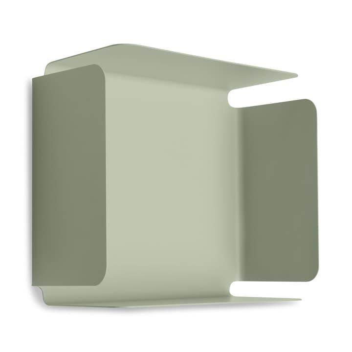 EVELINA Wandregal 362245803260 Grösse B: 12.8 cm x T: 32.0 cm x H: 26.0 cm Farbe Grün Bild Nr. 1