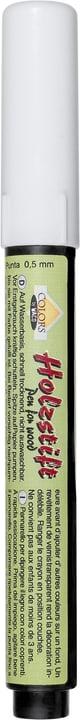 Matita di legno bianco Legna Creativa 664805300002 Colore Bianco N. figura 1