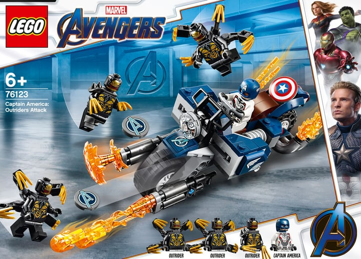 LEGO 76123 Marvel Super Hero 748714100000 N. figura 1