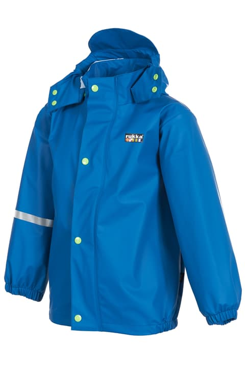Jarel Kinder-Regenjacke Rukka 472322209840 Farbe blau Grösse 98 Bild-Nr. 1