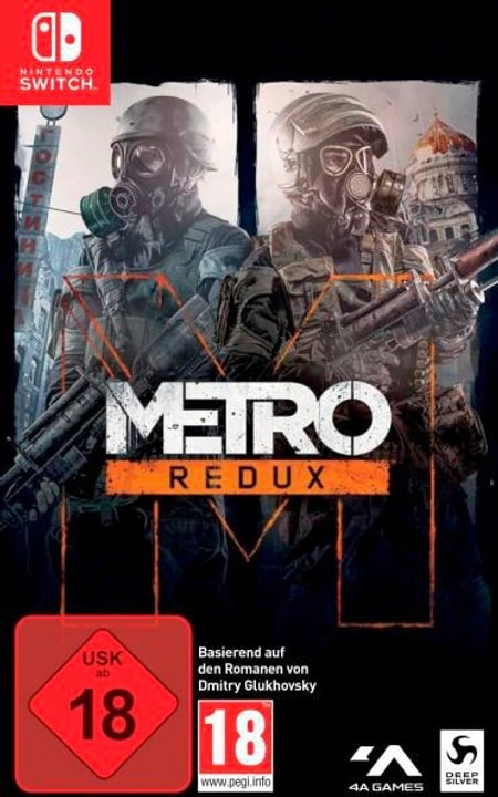 NSW - Metro Redux Box 785300150766 Langue Allemand Plate-forme Nintendo Switch Photo no. 1