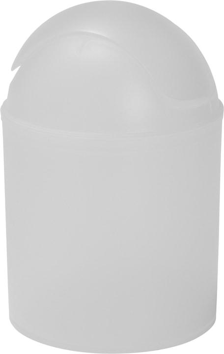 Pattumiera con tapa basculante diaqua 675363000000 Colore Bianco Taglio Ø 13.5 X 20 CM N. figura 1