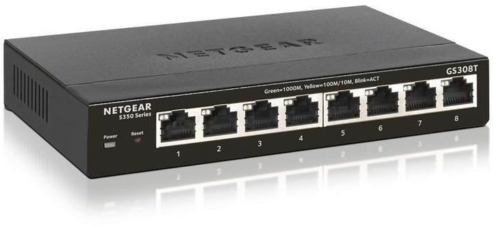 GS308T 8 Port Gigabit Ethernet Smart Managed Pro Netzwerk/LAN Switch Switch Netgear 785300141810 Bild Nr. 1