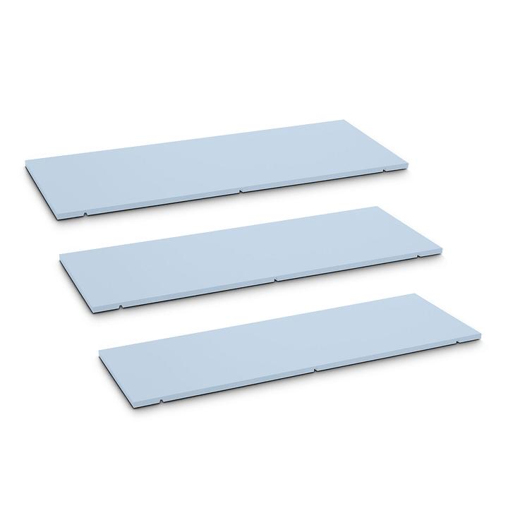 SEVEN Ripiano set da 3 90cm Edition Interio 362215900000 Dimensioni L: 90.0 cm x P: 1.4 cm x A: 35.5 cm Colore Blu N. figura 1
