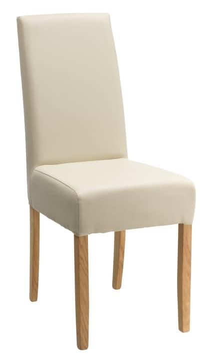 LEONI Chaise 402337900074 Dimensions L: 43.0 cm x P: 58.0 cm x H: 97.0 cm Couleur Beige Photo no. 1