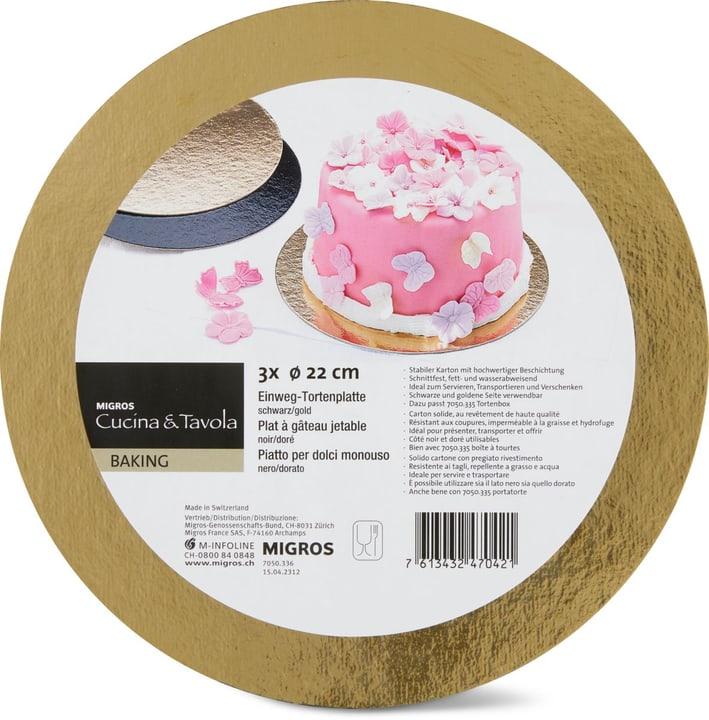 Vassoi per torte Ø 22cm Cucina & Tavola 705033600000 N. figura 1