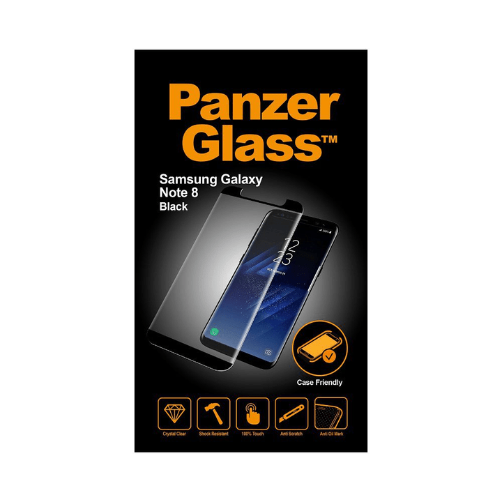 for Galaxy Note 8 black Panzerglass 798602300000 Photo no. 1